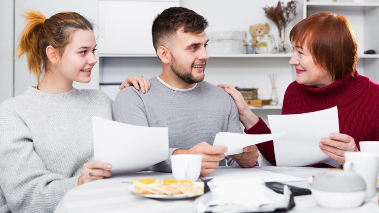 Talking money with your family